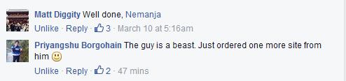 Matt and Priyangshu Comment