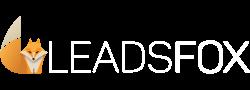 leadsfox logo-white