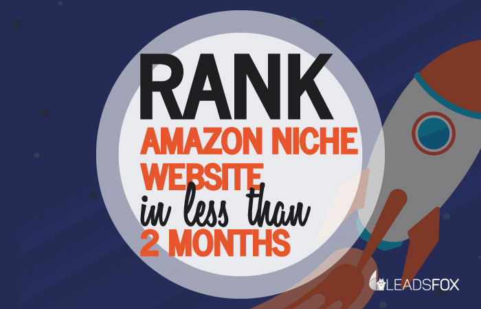 Rank Amazon Niche Affiliate Website Featured