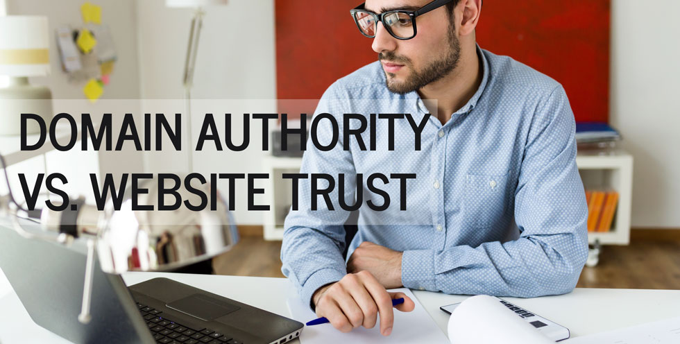 Domain Authority and Website Trust