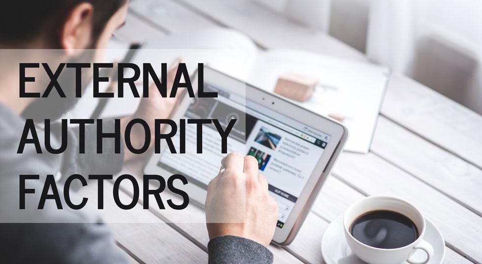 External Authority Factors