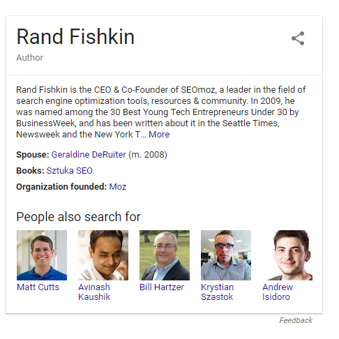 rand fishkin knowledge graph
